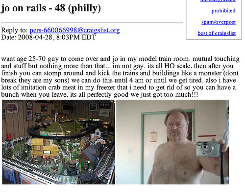 I Hate The Internet: Craigslist